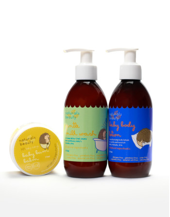 Naturals Beauty Baby Hemp Gift Bath Set