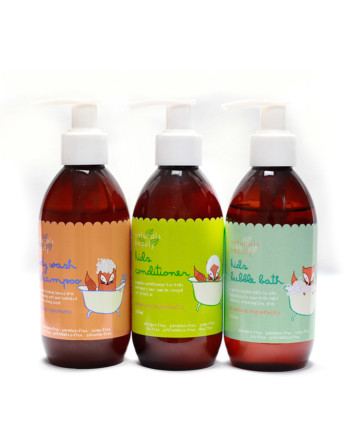 Naturals Beauty R&R Kids Bath Gift Set