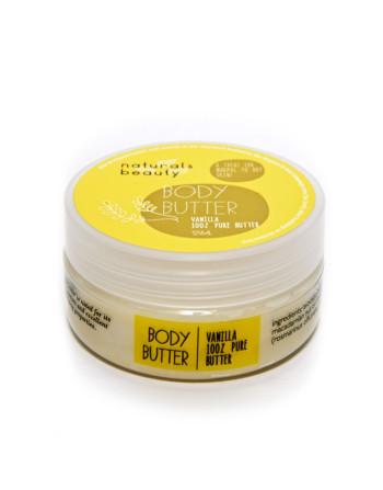 Naturals Beauty Vanilla Body Butter