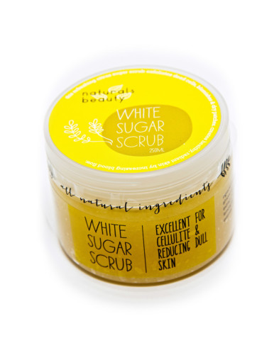 Naturals Beauty White Sugar Scrub
