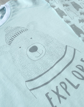 Home Grown Africa - Explorer Bear Pyjamas