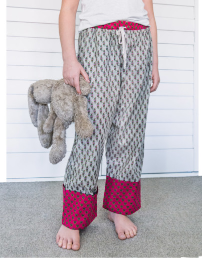 Girls indian cotton pyjama pant