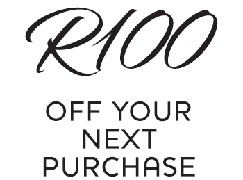 R100 off your next purchase