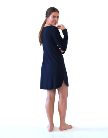 Gina sleepshirt navy nightdress