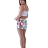 Hibiscus floral shorts