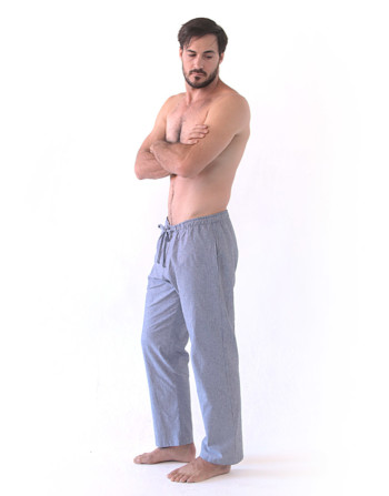 Men's Grey Cotton Pyjama Pant
